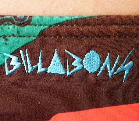 BILLABONG NINATO LOW PLAVKY detail 2